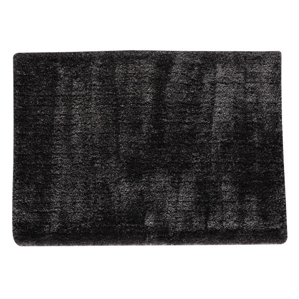 tapis poils longs gris anthracite 160 x 230 cm polaire le fait main. Black Bedroom Furniture Sets. Home Design Ideas