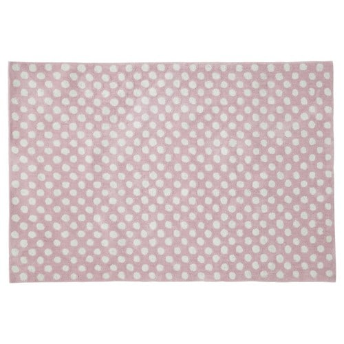 Tapis Pois Rose 120 X 180 Cm Dolly Maisons Du Monde