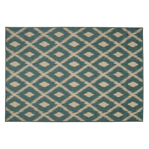 tapis d 39 ext rieur en polypropyl ne vert 160 x 230 cm seaside maisons du monde. Black Bedroom Furniture Sets. Home Design Ideas