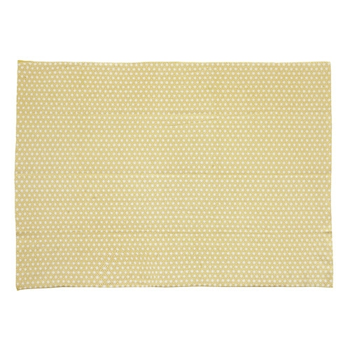 tapis en coton jaune moutarde 60 x 120 cm origami maisons du monde. Black Bedroom Furniture Sets. Home Design Ideas
