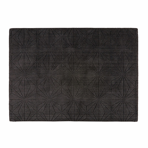 tapis en laine anthracite 140x200cm etoli maisons du monde. Black Bedroom Furniture Sets. Home Design Ideas