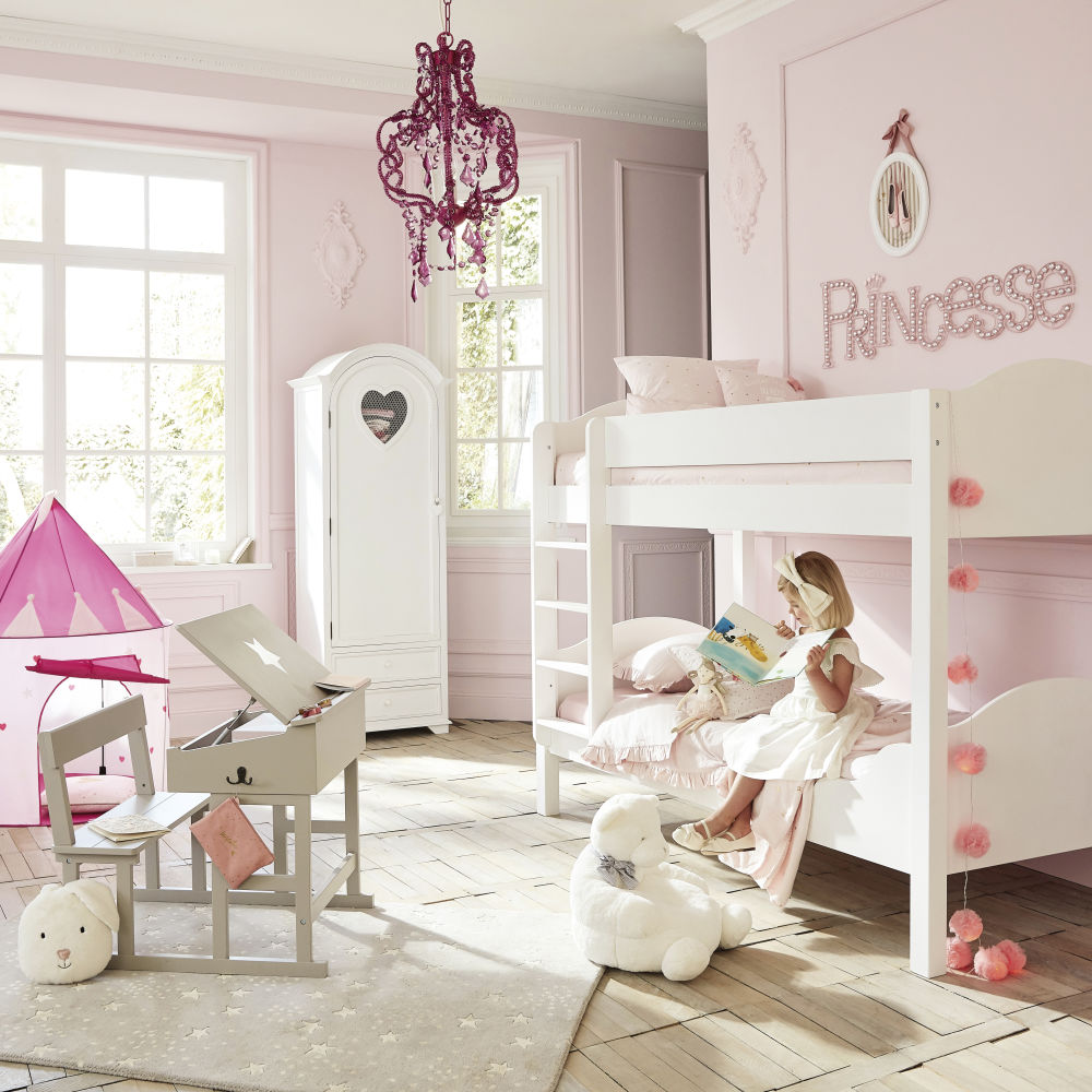 bureau enfant taupe pupitre maisons du monde. Black Bedroom Furniture Sets. Home Design Ideas