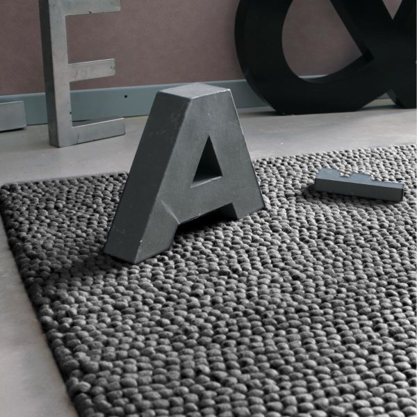 Tapis gris Industry 200x300
