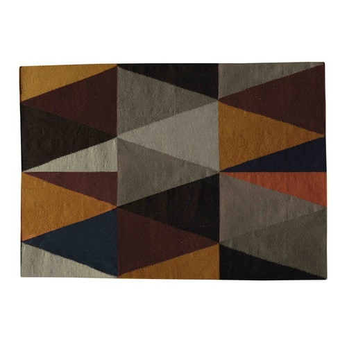tapis en laine multicolore 160 x 230 cm archi maisons du monde. Black Bedroom Furniture Sets. Home Design Ideas