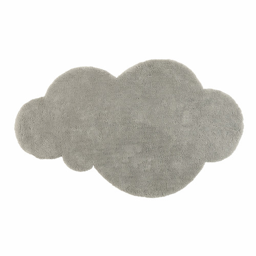 tapis nuage poils courts gris 125 x 200 cm maisons du monde. Black Bedroom Furniture Sets. Home Design Ideas