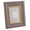Taupe and Gold Photo Frame 13 x 18 cm