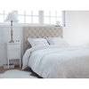 t te de lit capitonn e en lin l 160 cm chesterfield maisons du monde. Black Bedroom Furniture Sets. Home Design Ideas
