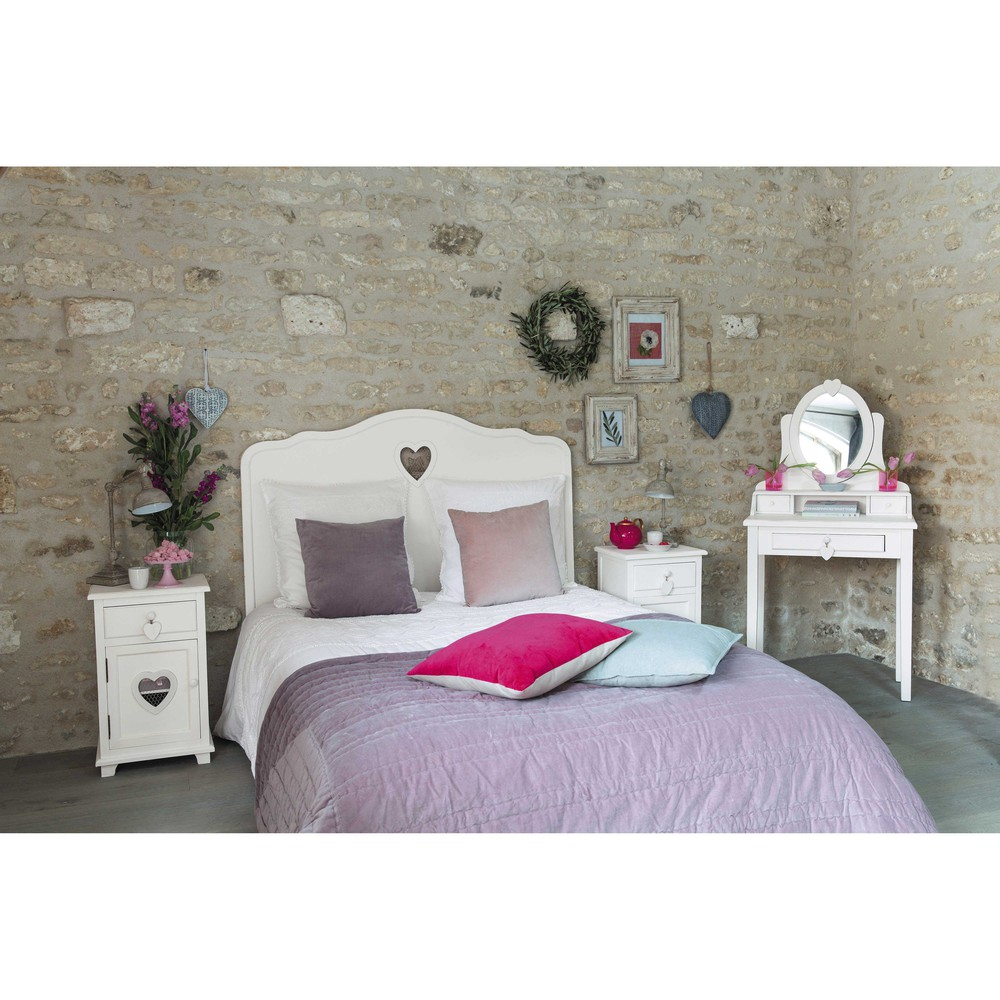 beautiful tete de lit valentine pictures. Black Bedroom Furniture Sets. Home Design Ideas