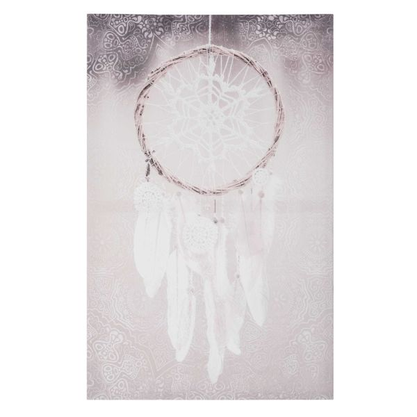 Toile 55x85cm WHITE DREAMCATCHER