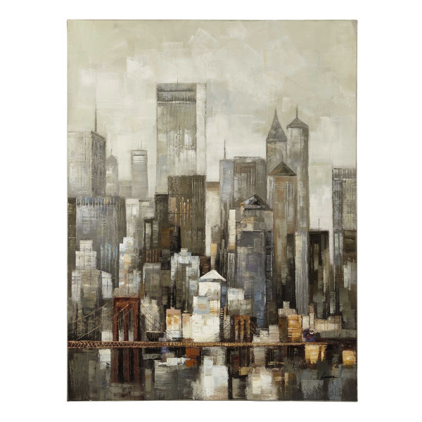 Toile 90 X 120 CM LOWER MANHATTAN