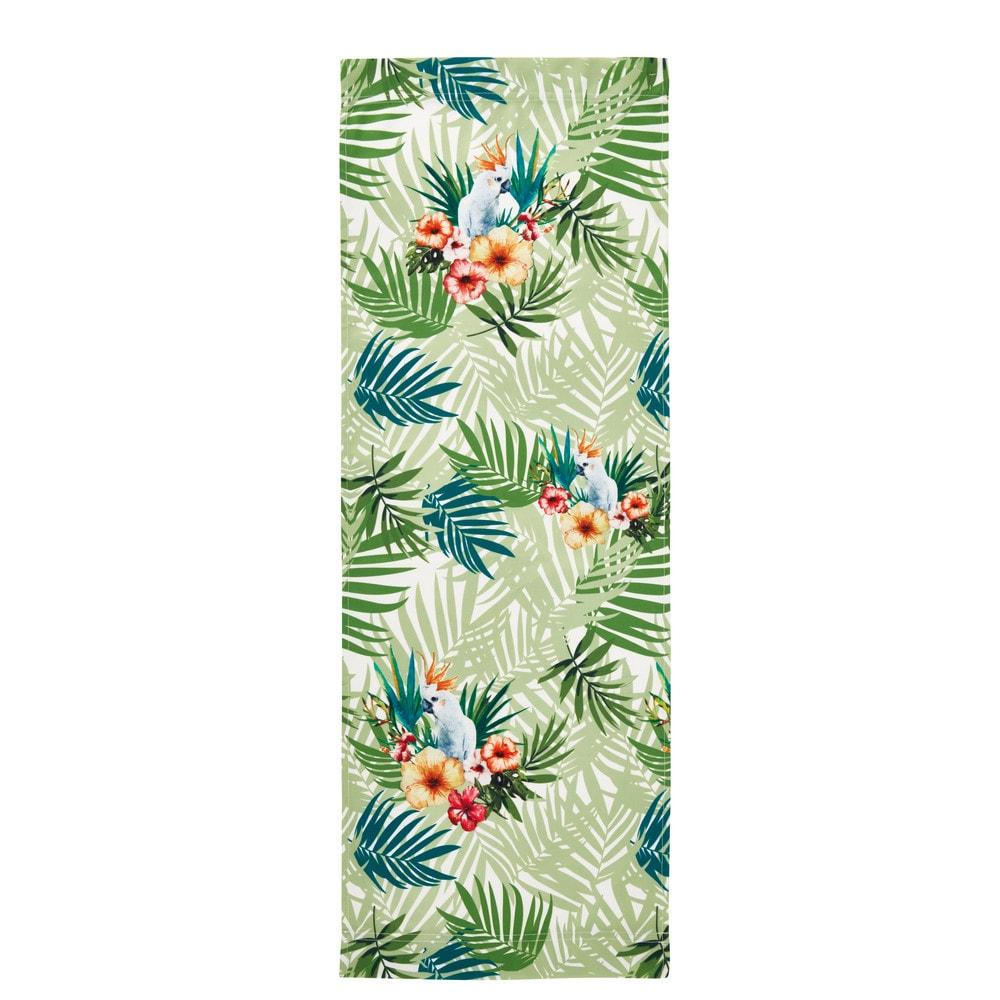 Toile de transat imprimé tropical 44x124 (photo)