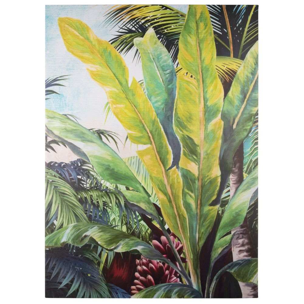 Toile forêt tropicale 65x90