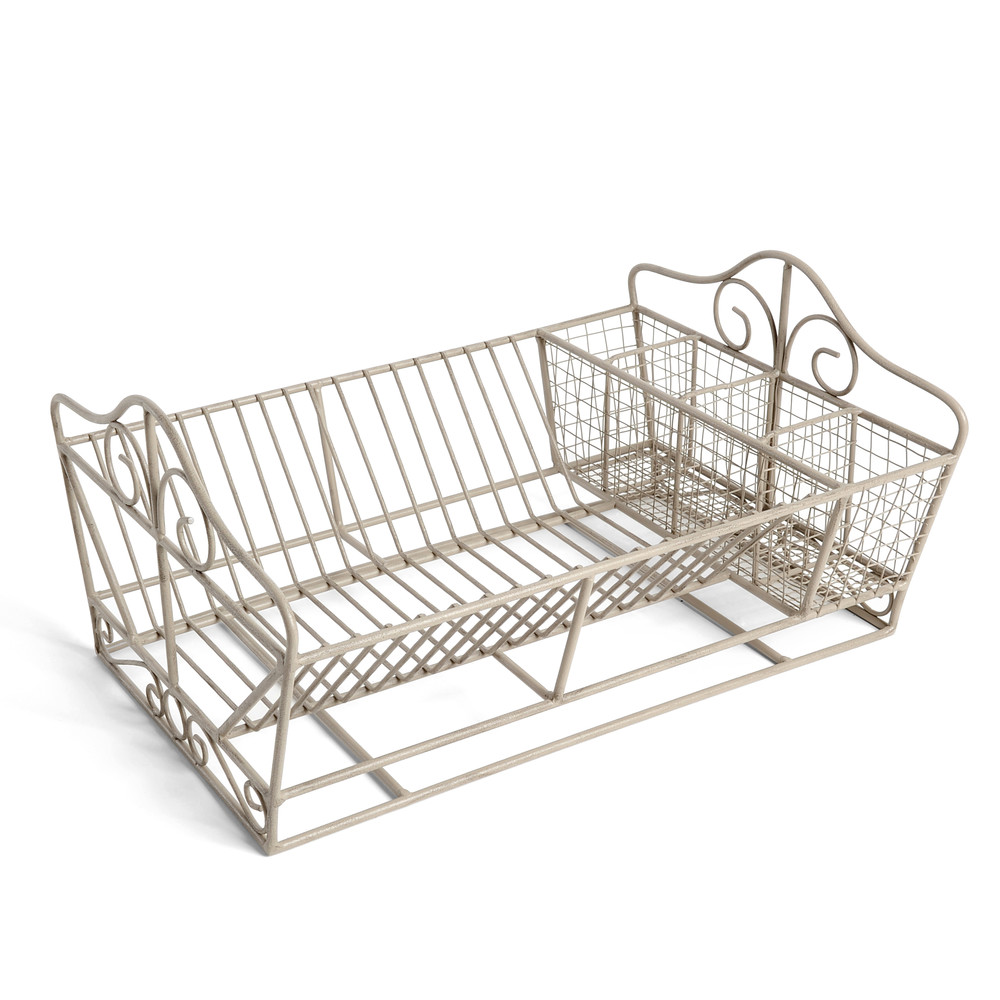 Tradition grey dish drainer