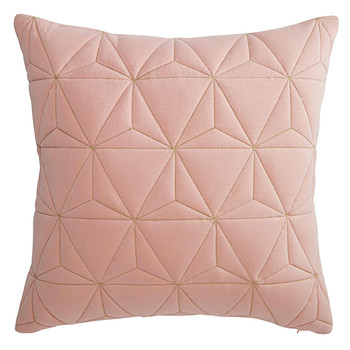 pink cushion with gold motifs45 x 45 cm