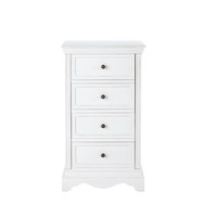 White 4-Drawer Jewellery Cabinet Joséphine