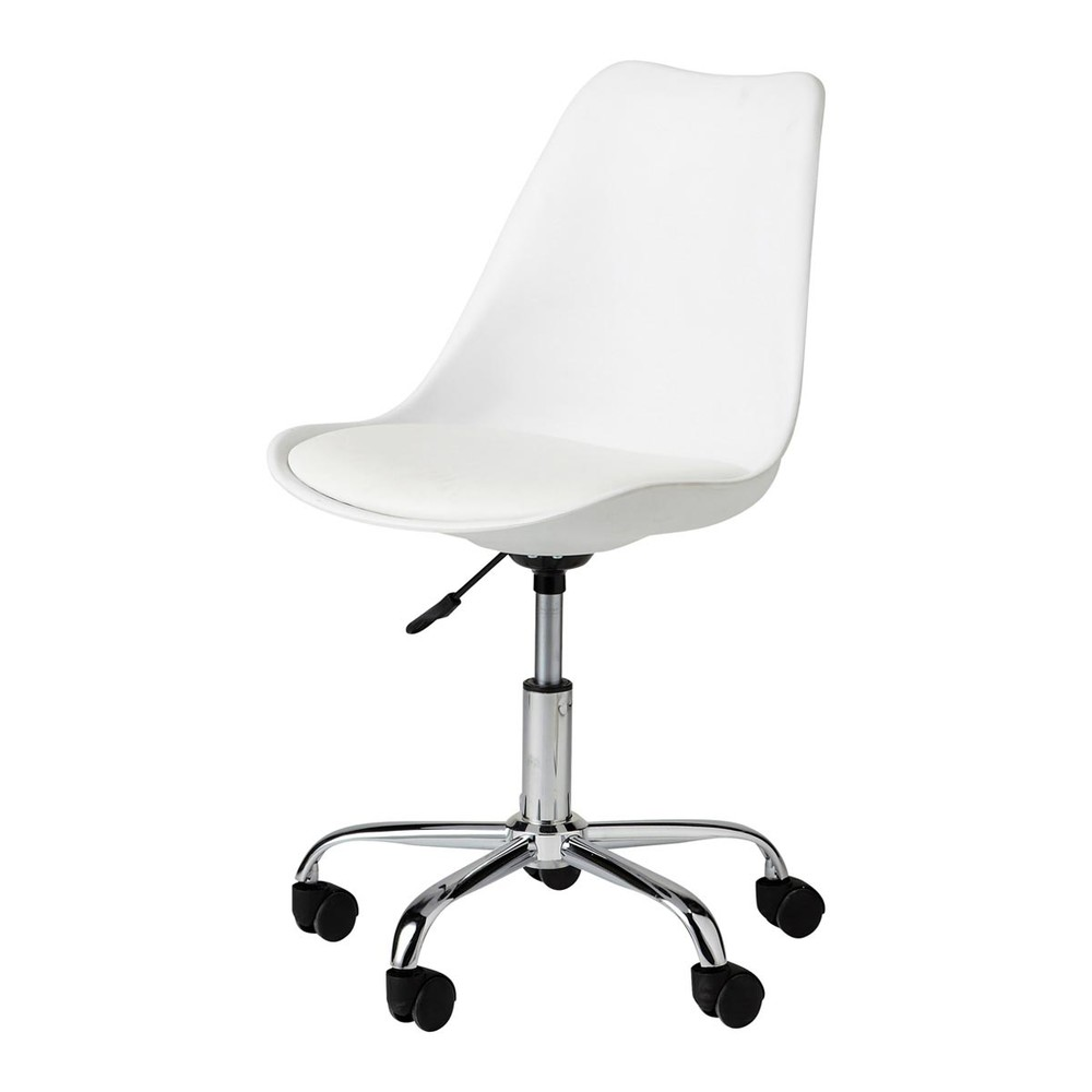 plastic desk chair. White Desk Chair With Casters. Bristol Plastic H