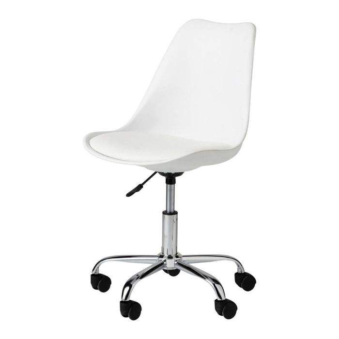 White Desk Chair With Casters Description Characteristics Availability In This Look Bristol