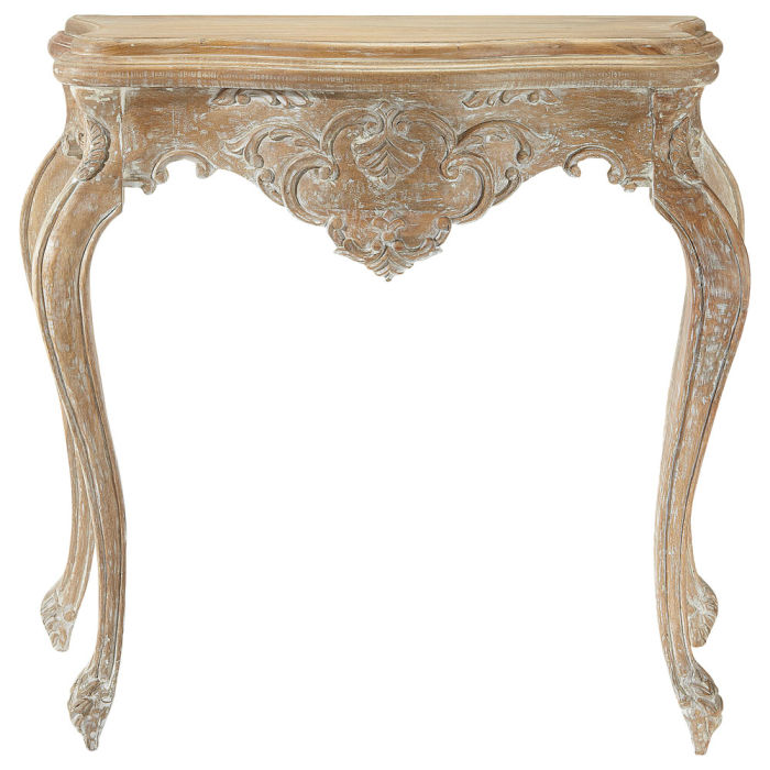 white washed mango wood. Whitewashed Mango Wood Console Table In Distressed Finish W 86cm. Description; Characteristics; Availability Store; Shop This Look. Neuilly White Washed A
