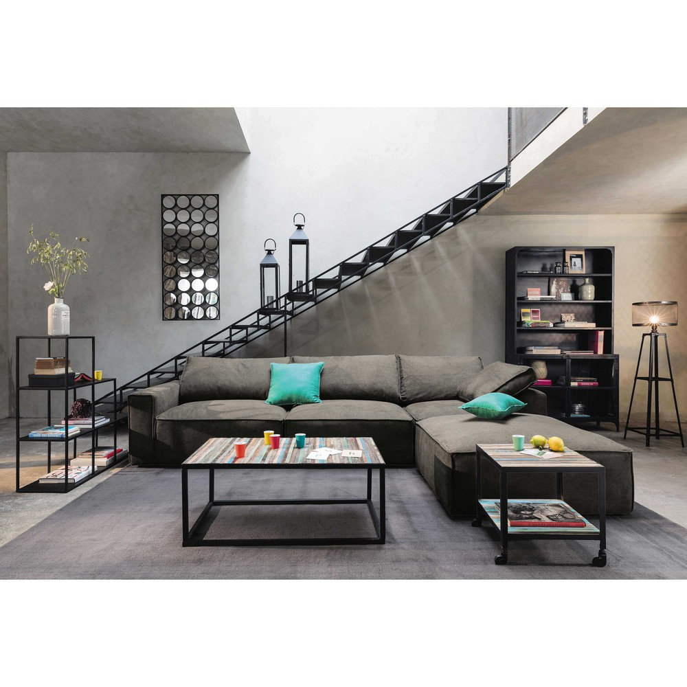 console beton maison du monde cool excellent table. Black Bedroom Furniture Sets. Home Design Ideas