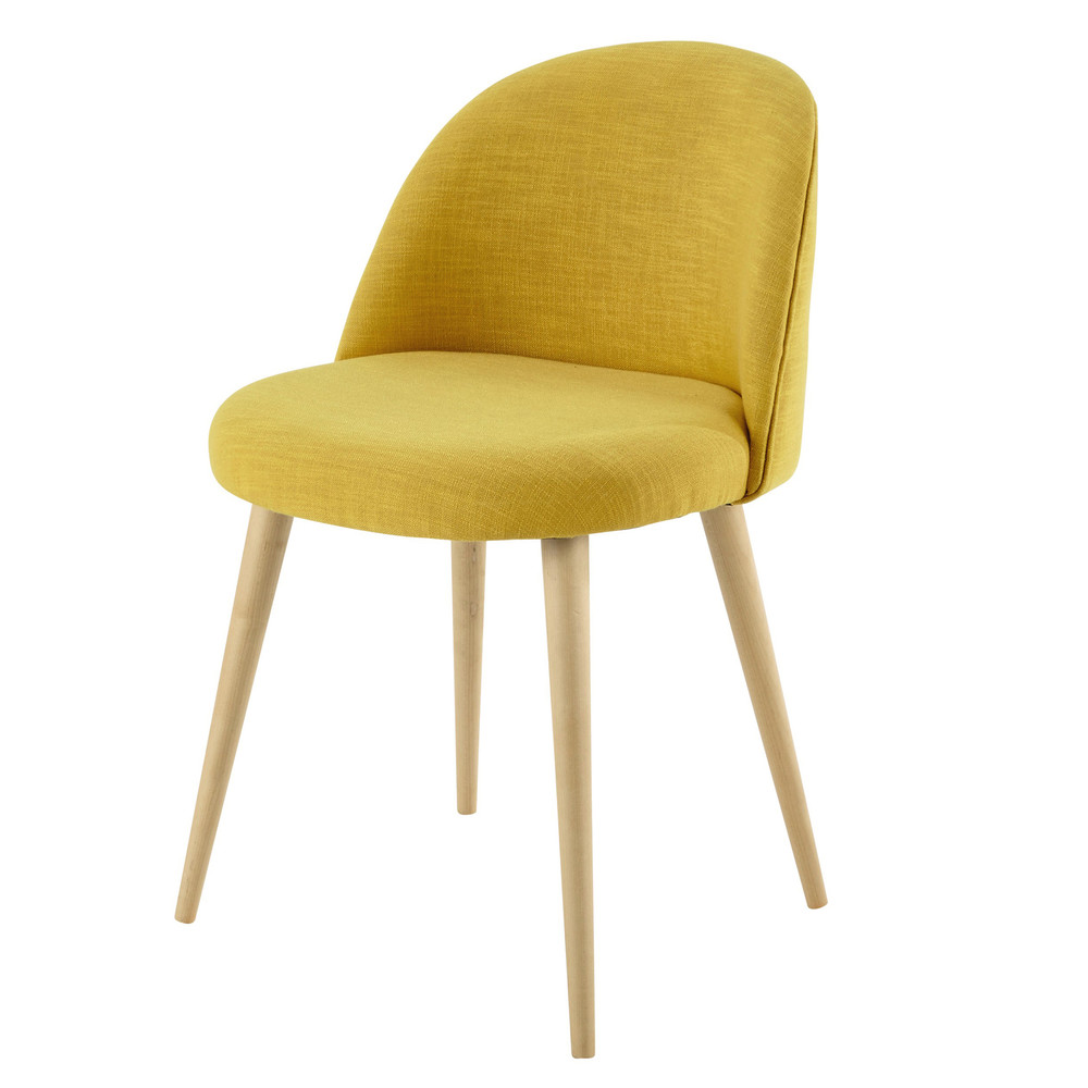 shop cracked retro yellow seating chair pd dining ice side richardson contemporary chairs